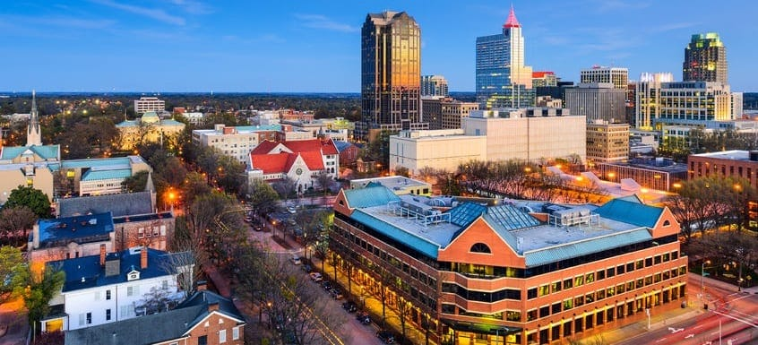 Raleigh is great place for investment property