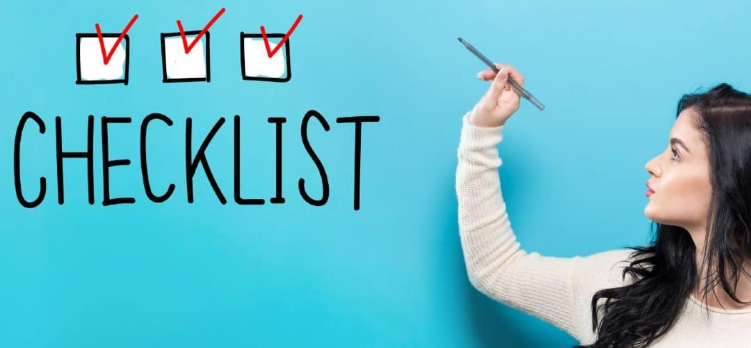 Move Out Checklist for Tenants